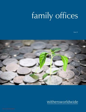 family offices - Withers