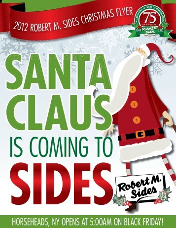 to Download Our Black Friday Catalogue - Robert M. Sides Season ...