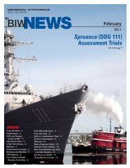 Spruance (DDG 111) Assessment Trials - Bath Iron Works