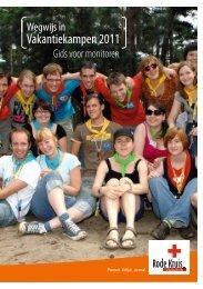 Vakantiekampen 2011 - Rode Kruis-Vlaanderen