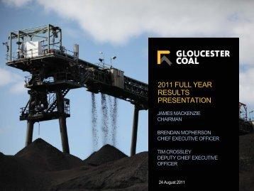Gloucester Coal - FinanzNachrichten.de
