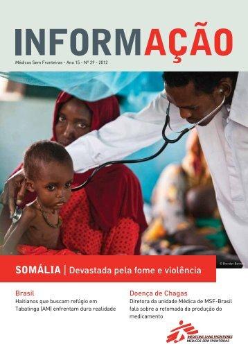 SOMÁLIA   Devastada pela fome e violência - Médicos Sem Fronteiras