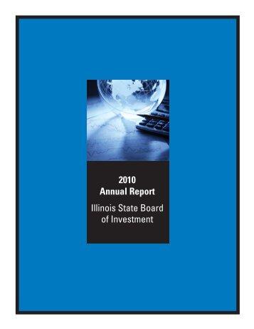 Annual Report PDF file 2010 - State of Illinois