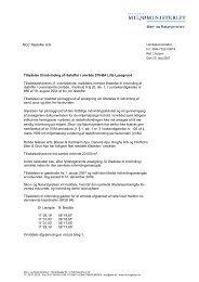 NCC Råstoffer A/S Tilladelse til indvinding af råstoffer i område 570 ...
