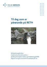 Informasjon til pårørande - Helse Bergen