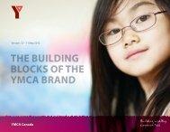 THE BUILDING BLOCKS OF THE YMCA BRAND - YMCA Canada