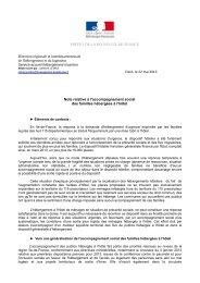 Note de présentation de l'appel à projets - DRIHL Ile-de-France