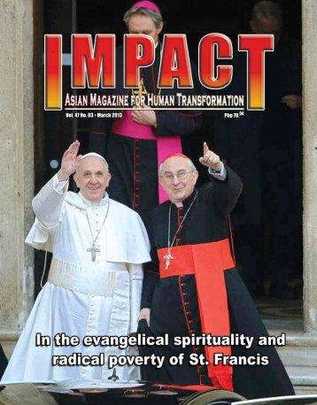 Php 70.00 Vol. 47 No. 03 • March 2013 - IMPACT Magazine Online!