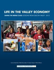 Life in the Valley Economy 2012 - Working Partnerships USA
