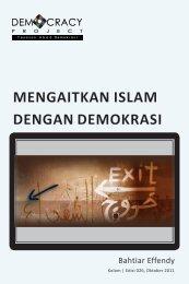 MENGAITKAN ISLAM DENGAN DEMOKRASI - Democracy Project