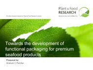 Towards the development of functional packaging for premium ...