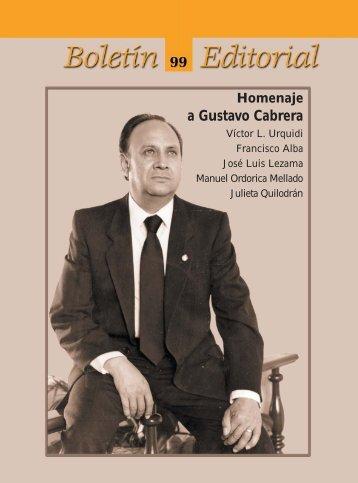 Boletín Editorial 99 - El Colegio de México