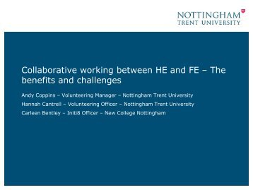 benefits of collaborative working