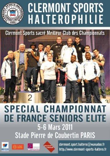 Les Podiums Féminins - Clermont Sports