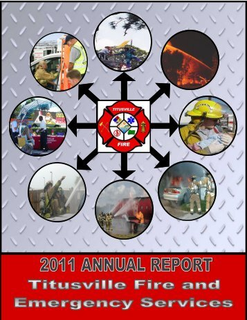 annual report-2011.pdf - The City of Titusville, Florida