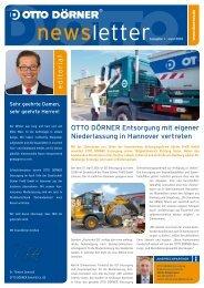 Newsletter 01/2010 - Otto Dörner Unternehmensgruppe