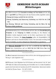 Pfarrbrief Nr. 15/2009 (213 KB) - .PDF