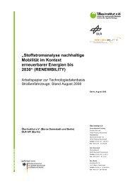 """Stoffstromanalyse nachhaltige Mobilität im Kontext ... - Renewbility"