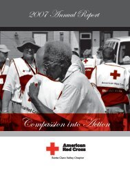 Santa Clara Valley Chapter - American Red Cross