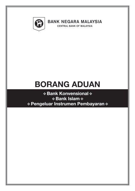 Muat Turun Borang Aduan Bnm Banking Info