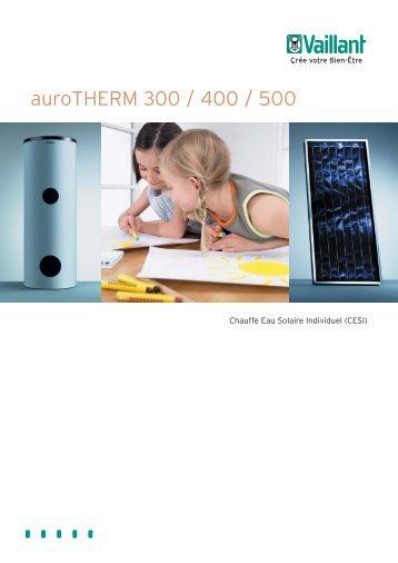 Doc auroTHERM 300-400 - Vaillant