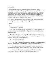 Free Trade Advantages and Disadvantages.pdf - PEGSnet