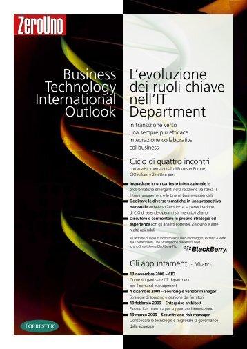 19 febbraio 2009 - Enterprise architect Evolvere l ... - ZeroUno