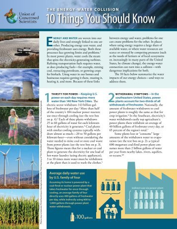 10 Things You Should Know - Catawba Riverkeeper Foundation