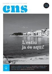 ENS 58 - L'estiu ja és aquí - JUL 12 PDF - Ajuntament de Sant Pol ...