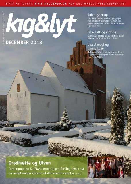 Kig & Lyt december 2013 - Ballerup Kommune