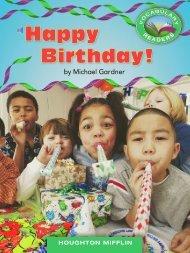 Lesson 10:Happy Birthday!