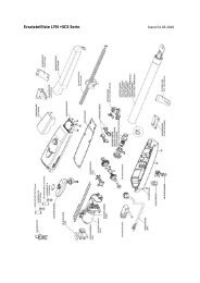 Ersatzteilliste LYN +SCS Serie - Schober Torantriebe GmbH