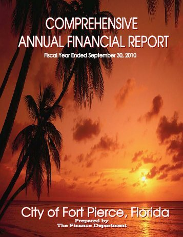 City of Fort Pierce COMPREHENSIVE ANNUAL FINANCIAL ...