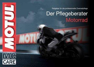 Der Pflegeberater Motorrad