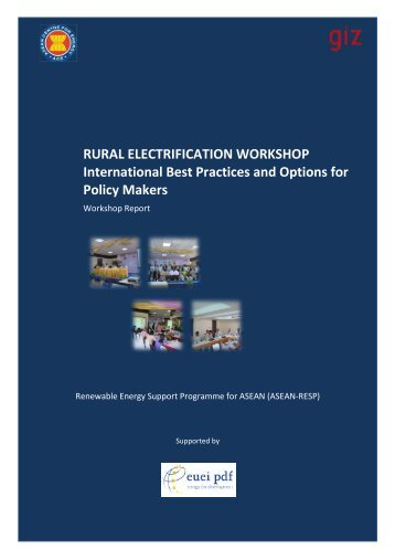 WS Report Myanmar final - EUEI Partnership Dialogue Facility (PDF)