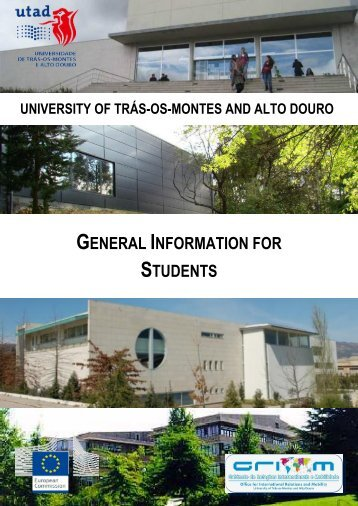 GENERAL INFORMATION FOR STUDENTS - Utad