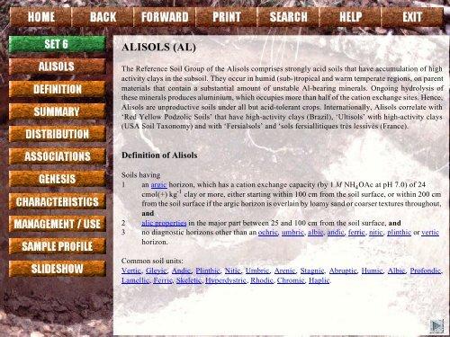 ALISOLS (AL) - ISRIC World Soil Information