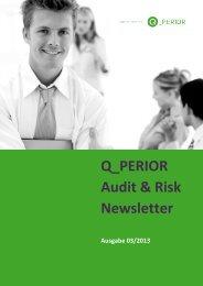 Q_PERIOR Audit & Risk Newsletter - REVISIONSWELT