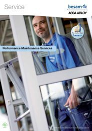 Service - Leading provider of automatic sliding, swing & revolving door