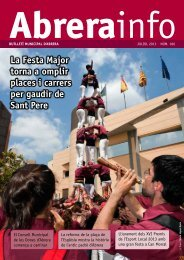 La Festa Major torna a omplir places i carrers per gaudir de Sant Pere