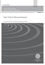 Illustrative Examples Exposure Draft Fair Value Measurement