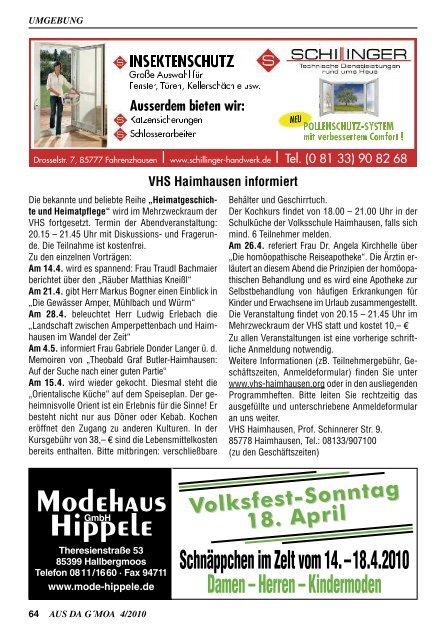 """Verlag """"AUS DA G'MOA"""""""