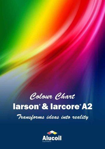 Carta de colores larson.cdr - Alucoil