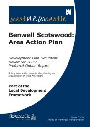 Benwell Scotswood: Area Action Plan - Newcastle City Council