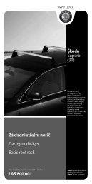 CZ - ÅKODA E-shop - Skoda Auto