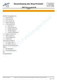 Gesamtkatalog aller Produkte im Onlineshop von DMT ...