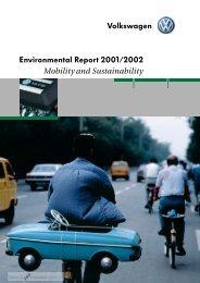 Volkswagen Environmental Report 2001/2002 - CorporateRegister ...