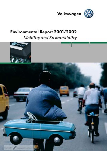 Volkswagen Environmental Report 2001/2002 - CorporateRegister ...