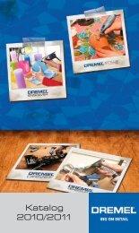 Katalog 2010/2011 - Dremel