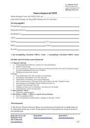 Samverkansavtal 2010 - Dalslands Turist AB